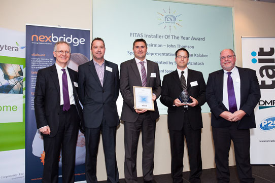 Handsfree win FCS Installer of the Year
